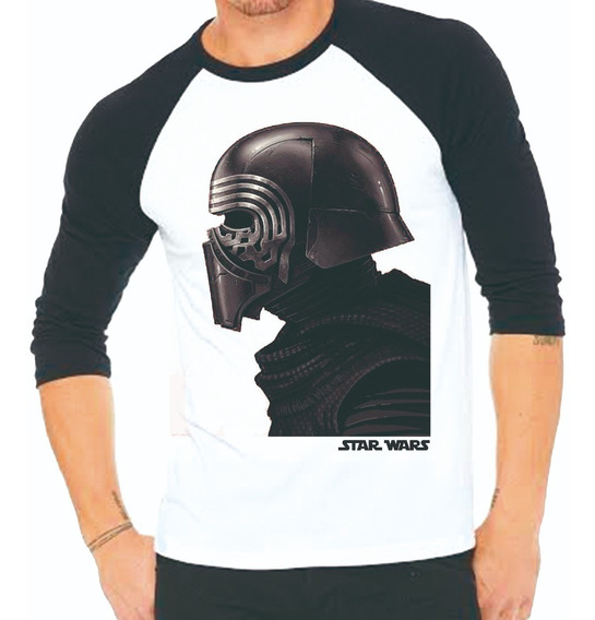 Playera Star Wars Perfil Guerrero