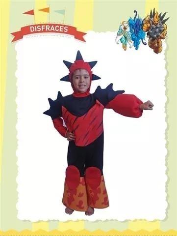 Disfraz Gormiti Armageddon New Toys Los Invencibles Sres..