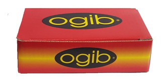 Clips Invisible Ogib X 200 Gr. Rubios Y Negros X 6 Unidades