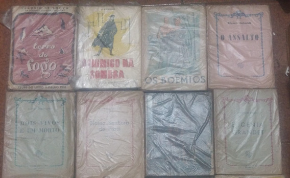 Lote 8 Livros Antigos Raros Clube Do Livro