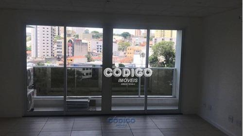 Imagem 1 de 10 de Sala, 53 M² - Venda Por R$ 390.000,00 Ou Aluguel Por R$ 1.700,00/mês - Vila Moreira - Guarulhos/sp - Sa0145