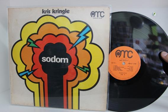Lp Kris Kringle - Sodom - 1972 - Raridade
