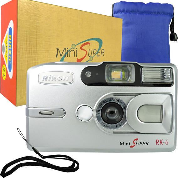 Máquina Fotográfica De Filmes Câmera Analógica Lente Japones