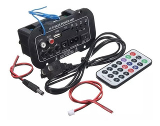 Mini Amplificador Bluetooth Usb Tf 110v Empotrar