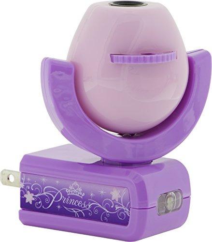 Disney Lampara Proyector 6 Figuras De Princesas
