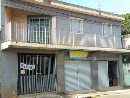 Casa Residencial À Venda, Jardim Alvinópolis, Atibaia. - Ca1562