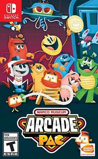Namco Museum Arcade Pac For Nintendo Switch - Standard E C39