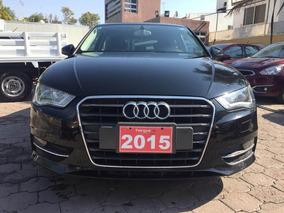 Audi A3 1.4 Ambiente Mt 2015 Negro, Hangar Galerias