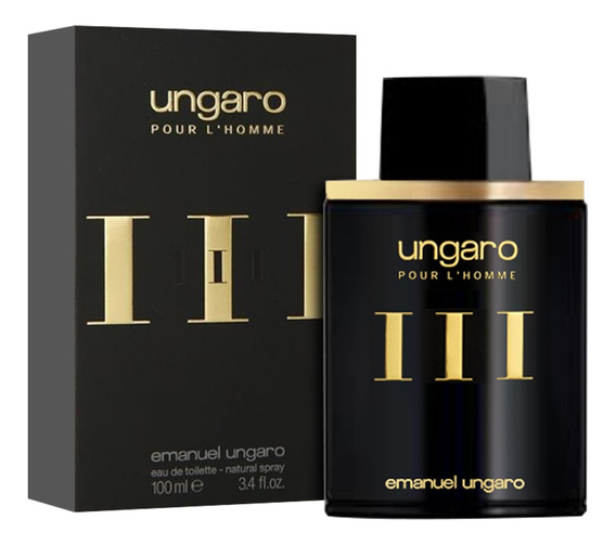 Ungaro Iii 100ml Edt Silk Perfumes Original