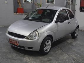 Ford Ka 1.6 Nafta 2004 3 Puertas Color Gris Plata