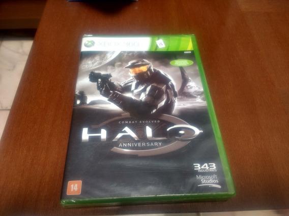Halo Anniversary Xbox 360 Novo Lacrado Mídia Física Original