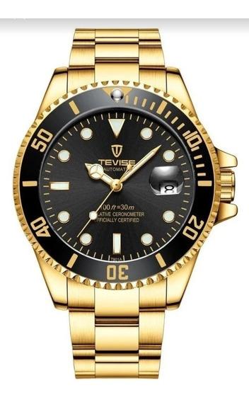 Relógio Automático Submarinerà Relógio Tevise Promoção
