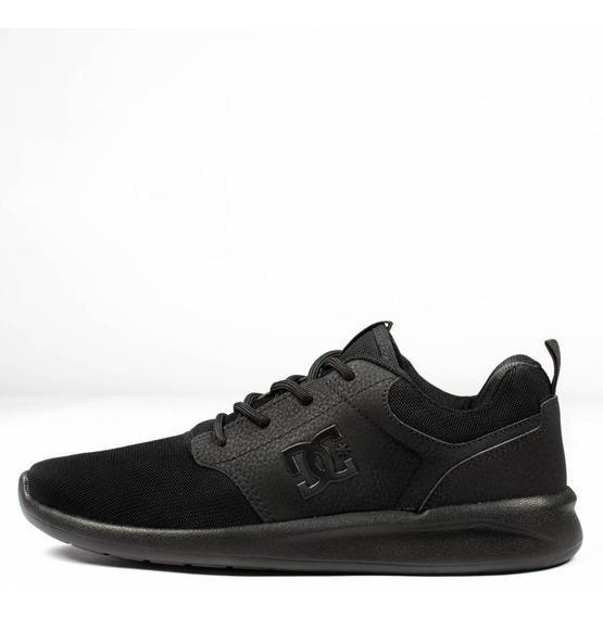 Tênis Masculino Dc Shoes Midway Sn Preto Black Promoção