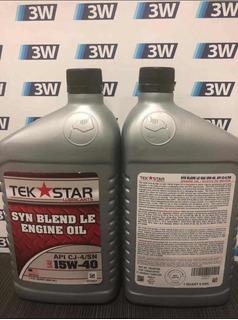 Aceite 15w-40 Y 20w-50 Tek Star Semi Sintético