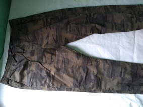 Calça Camuflada Masculina Exército