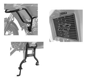 Protetor Motor Carenagem Radiador Cavalete Central Cb500x