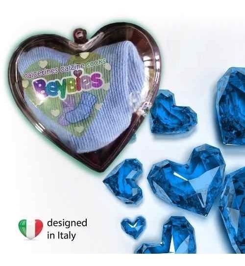 Medias Bebes Azules Beybies Regalo Babyshower