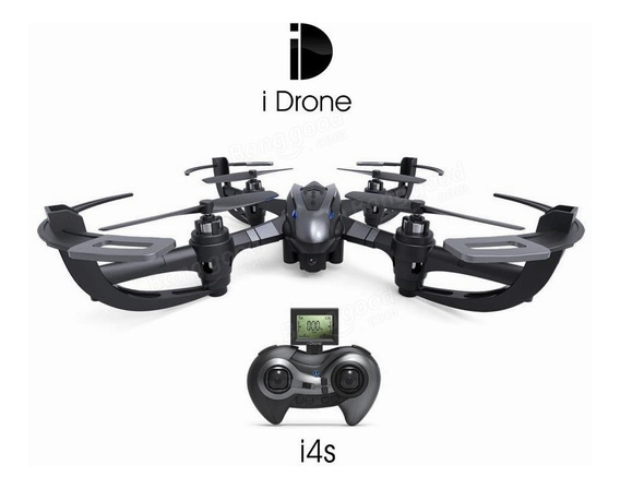 Drone Yi Zhan Yizhan I4s Com 2mp Câmera 2.4g 4ch 6axis