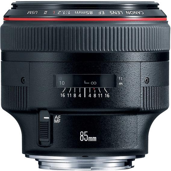 Lente Canon Ef 85mm F 1.2 L Ii Usm