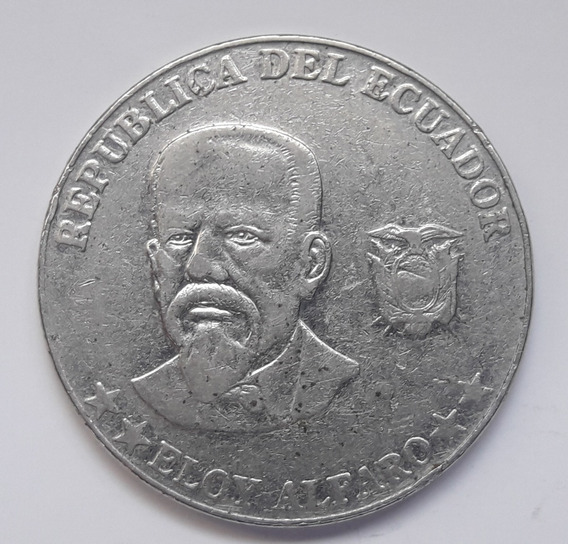 * Ecuador. 50 Centavos De 2000. Buen Tamaño