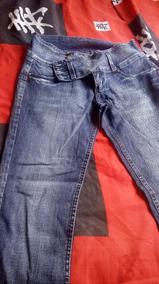 Calça Jeans Sawary Azul Usada - Tamanho 48 Levanta Bumbum