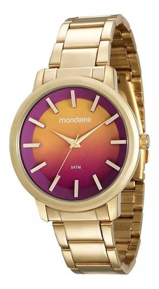 Relógio De Pulso Feminino Mondaine 53533lpmvde1