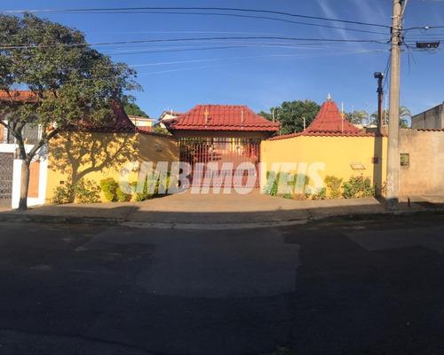 Imagem 1 de 26 de Casa À Venda 4 Dormitórios No Jardim Santana Em Campinas Na Imobiliária Cmb Imóveis - Ca06244 - Ca06244 - 69502772