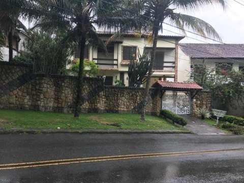 Excelente Casa De Rua Na Estrada Quitite , 4 Quartos,ci1756