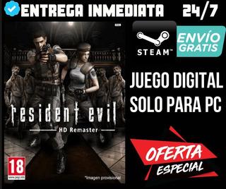 Resident Evil / Biohazard Hd Remaster // Steam // Original