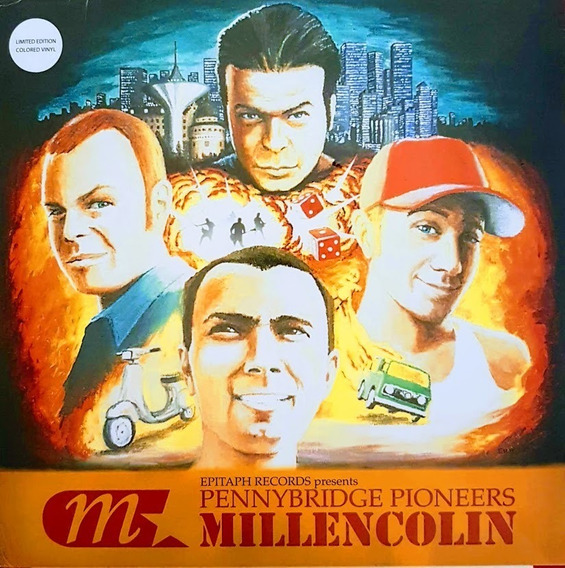 Lp Vinil Millencolin ¿ Pennybridge Pioneers - Imp. Lacrado