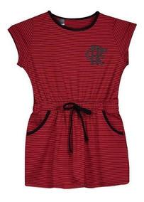 Vestido Flamengo Noob Infantil