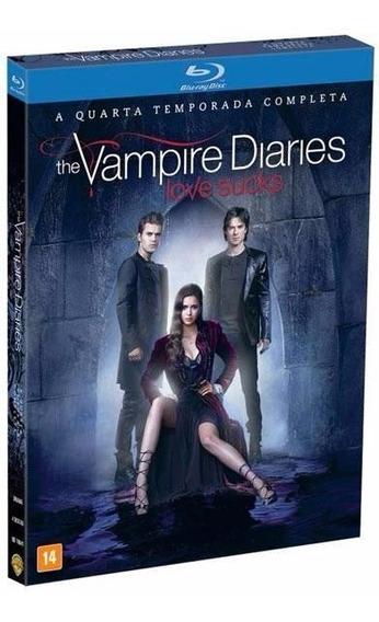 The Vampire Diaries 4ª Temporada - Box Com 4 Blu-rays
