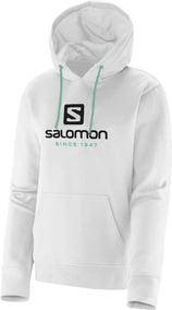 Blusa Feminina Salomon - Logo Hoodie W - Casual