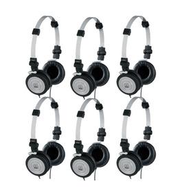 Fone De Ouvido Akg Profissional K414p Pack Com 6 Unidades