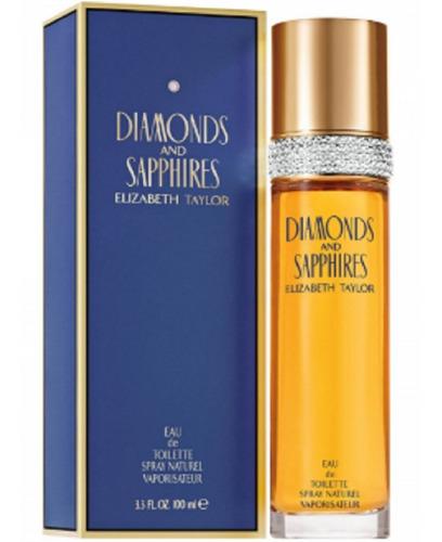 Diamonds And Sapphires Elizabeth Taylor - L a $172