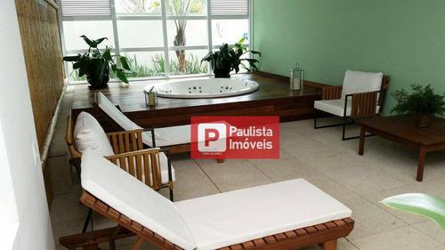 Apartamento Com 1 Dormitório Para Alugar, 37 M² Por R$ 3.000,00/mês - Vila Cruzeiro - São Paulo/sp - Ap29354