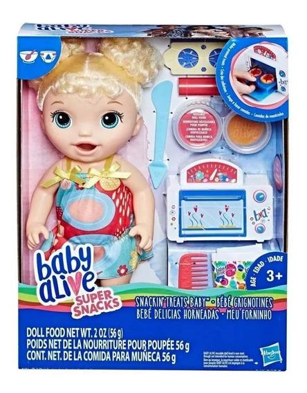 Muñeca Baby Alive Bebe Delicias Horneadas Juguete Niña