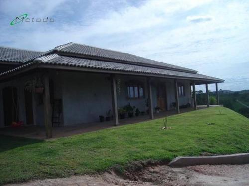 Chácara Com 3 Dormitórios À Venda, 4800 M² Por R$ 750.000,00 - Maracatu - Guararema/sp - Ch0011