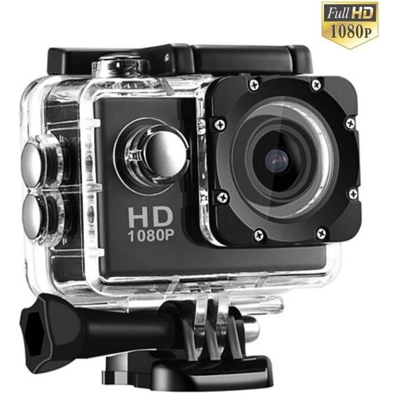 Câmera Action Filmadora Sport Lcd Hd 1080p Microfone Interno