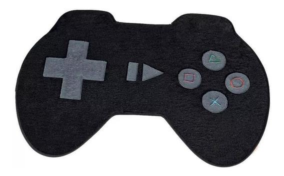 Tapete Infantil Quarto Bebe Pelúcia Game Controle 0,76x0,58