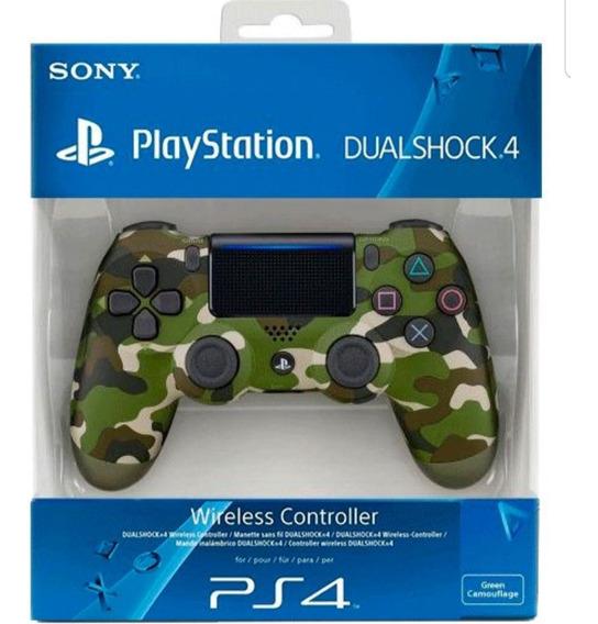 Controle Playstation 4 Dualshock Camuflado Original Sony