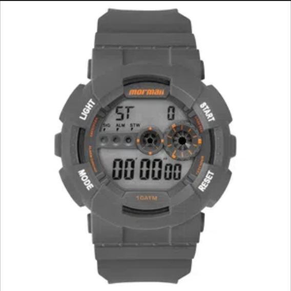 Relógio Digital Mormaii Wave Cinza Mo9210ab/8c
