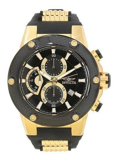 Relógio Masculino Invicta Speedway 22401 52mm Preto/dourado