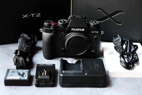 Camera Fujifilm Xt2 X-t2 Zerada Impecável X-t3 X-t30 X-t20