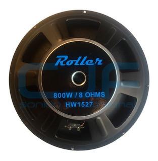 Parlante Woofer Roller Ws1527 400w 15 Pulgadas Bobina 63 Cjf