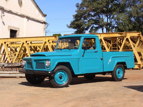 Ford Rural F75 Willys Pickup 1965