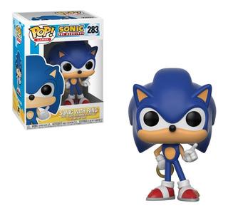 Funko Pop Sonic With Ring #283 - Miltienda - Sonic