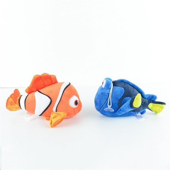 Kit 2 - Pelúcias Procurando Nemo Dory 22 Cm