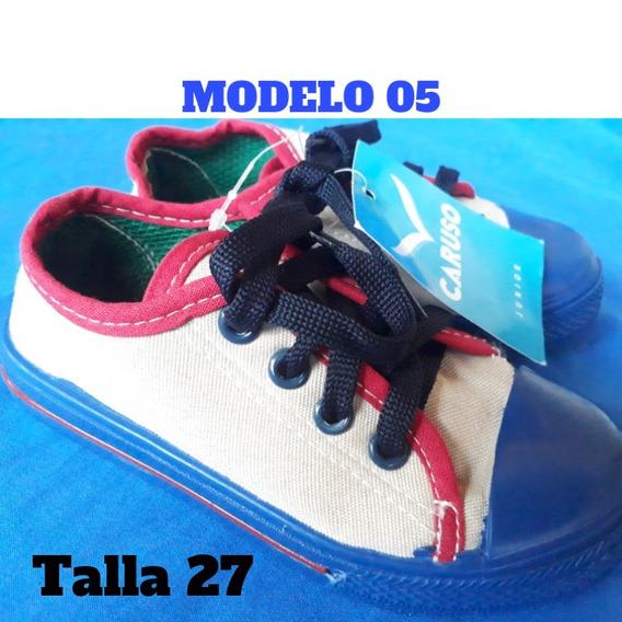 Zapatos Tipo Converse Para Niño/ Caruso