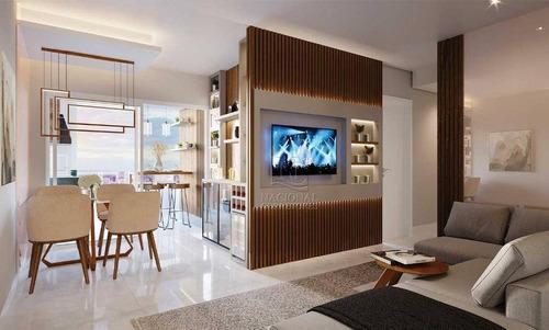 Imagem 1 de 22 de Apartamento Com 2 Dormitórios À Venda, 94 M² Por R$ 697.000,00 - Vila Léa - Santo André/sp - Ap12078